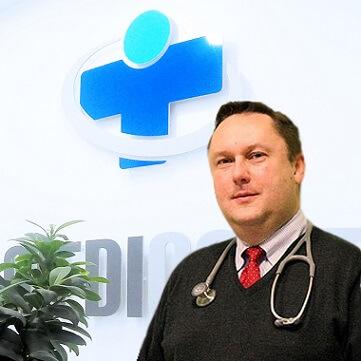 Internista Tomasz Grela