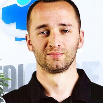Fizjoterapeuta Marcin Panasiuk